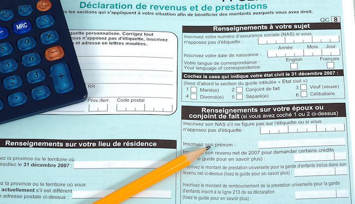 Les REEE et vos déclarations d'impôts