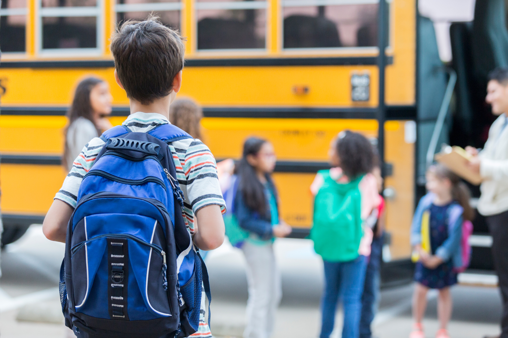 How can you help your child transition back to school?
