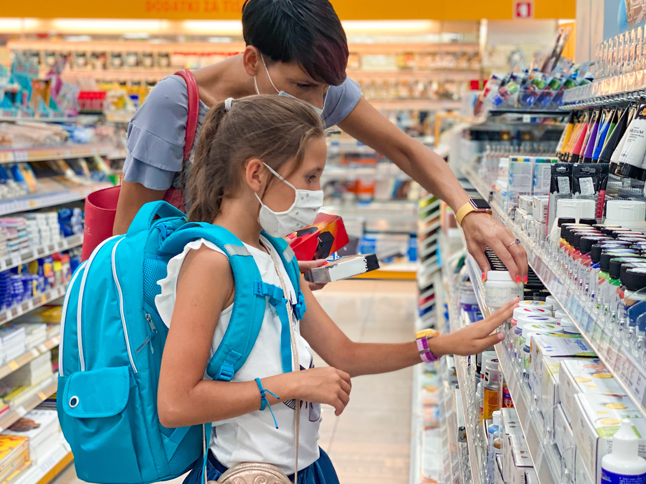 Saving money on back to school in Covid times